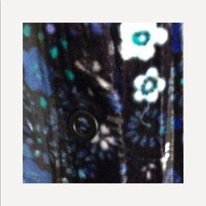 Tahari Tops - Elie Tahari Martha Floral- Print Velvet Blouse🌼